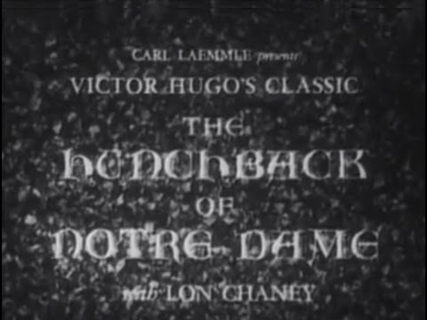 The Hunchback of Notre Dame 1923 Silent Movie