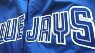 New Authentic Vintage Toronto Blue Jays Majestic Jacket Pick-up!!!