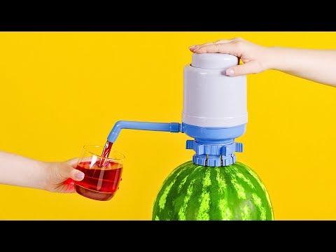 วิธีทำเครื่องกดน้ำแตงโม