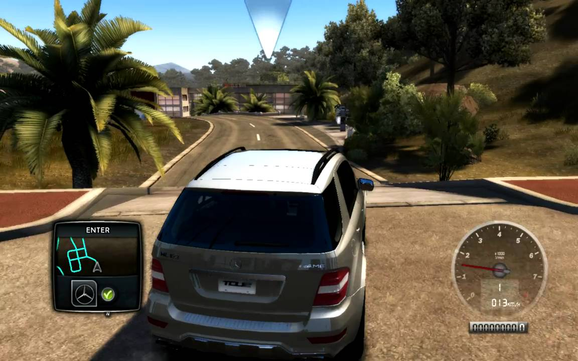 Test Drive Unlimited 2 Mercedes Benz Ml63 Amg Youtube