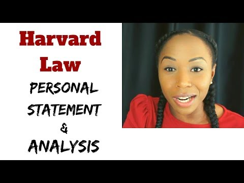 Reading My Harvard Law Personal Statement | Ep. 1, Read-throughs