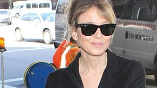 Renee Zellweger Asked About Plastic Surgery