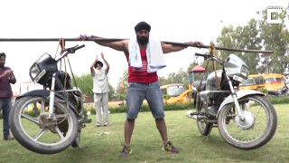The Real Baahubali | Steel Man Of India | Bike Stunts | Car Stunts 2017 | Bike Stunts