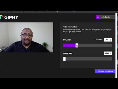 4 Ways To Use Giphy - Online Design Tutorial thumbnail