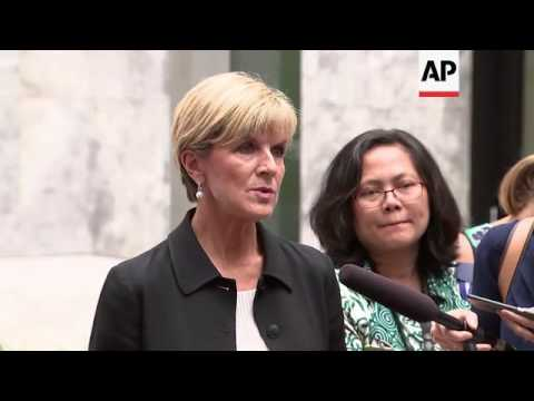 Australian FM opens new embassy