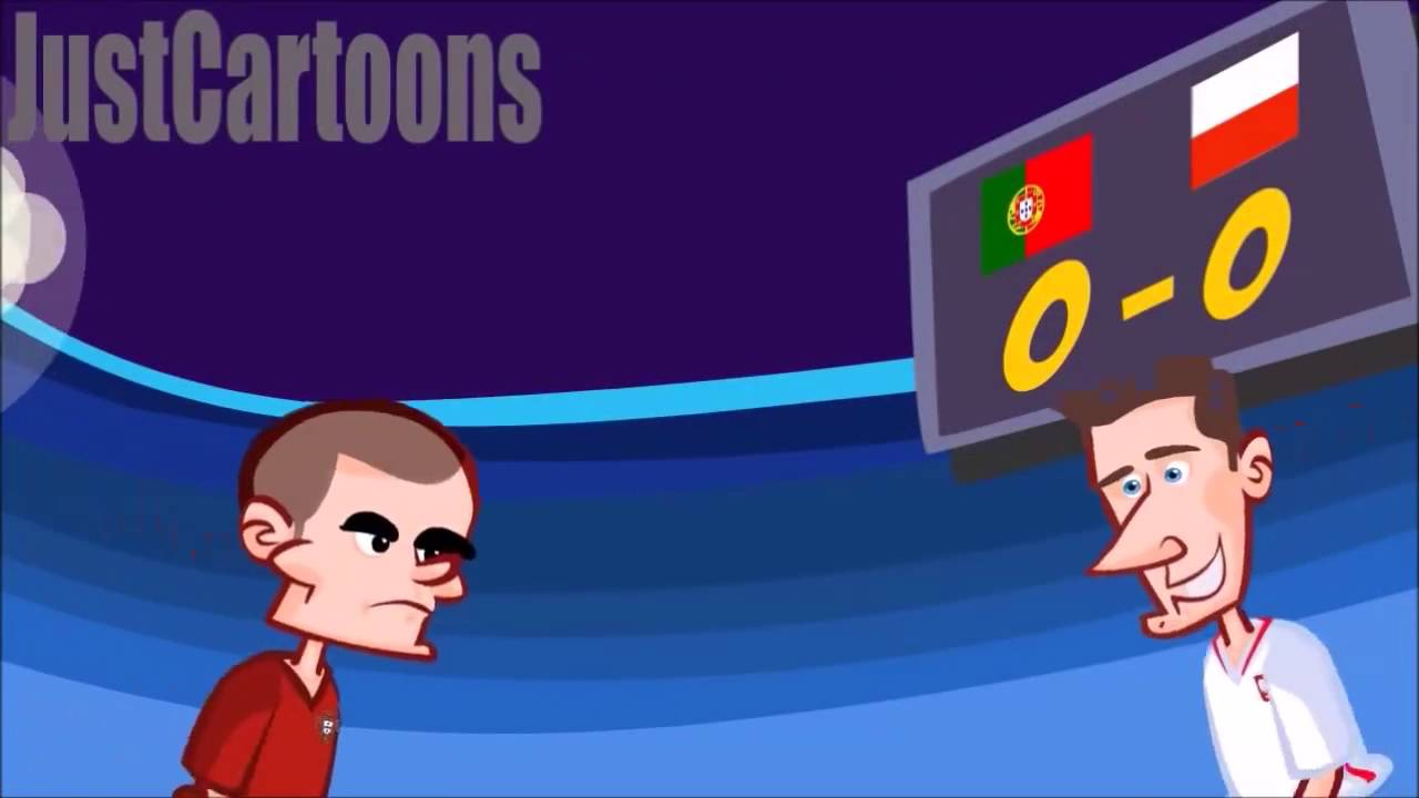 Portugal No Euro 2016 Cartoon Youtube