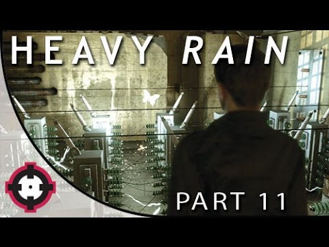 "Heavy Rain Blind Let's Play Gameplay PS4 // Part 11 - Trial #2 ""Suffering"" (w/ a Special Guest!)"