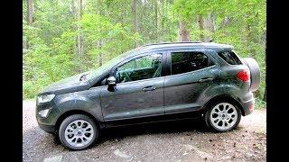 Форд Экоспорт (Ford EcoSport): тест - обзор между городом и деревьями