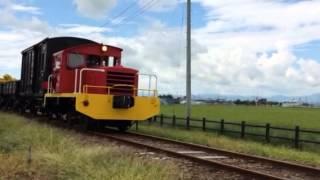栗原電鉄DB101+TMC100F プッシュプル貨物列車