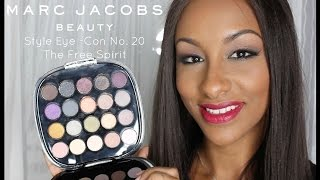 Marc Jacobs The Free Spirit Style Eye-Con No 20 | Swatches + First Impression