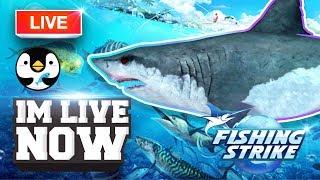 《釣魚大亨 Fishing Strike》 Hunting for Legendary Megalodon Shark!
