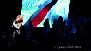 Bjork Lollapalooza Chile 2012 Full Concert HQ Biophilia Tour