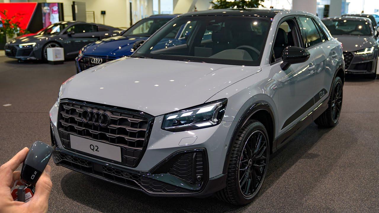 Download 2021 Audi Q2 Sline 35 TFSI (150hp) - Sound & Visual Review!