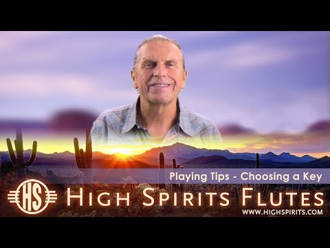High Spirits Info - How to Choose a Flute Key