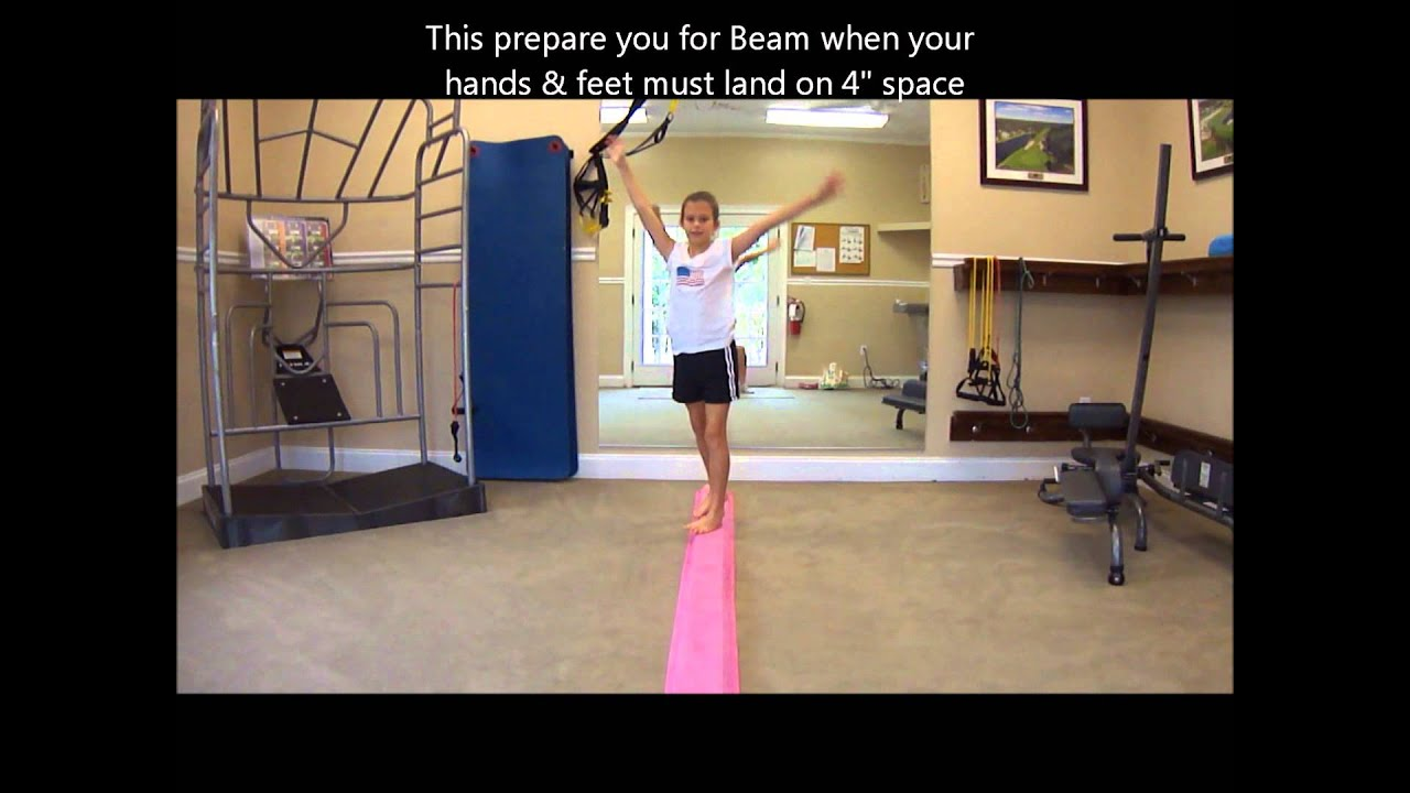 Diy High Beam Gymnastics Diydrywalls Org