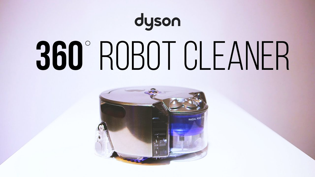 Dyson 360 Eye - Intelligent Robot Vacuum - Dyson Australia - YouTube