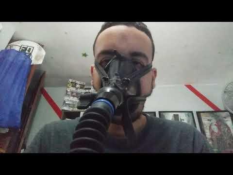 Breath Control Valve on Anesthesia Mask