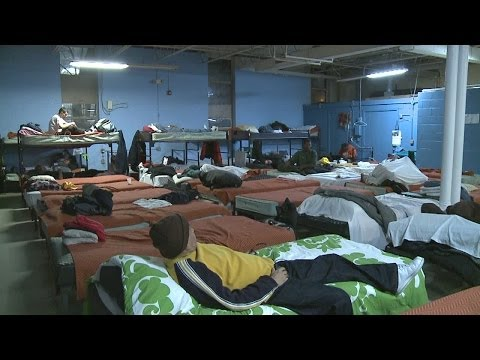 Homeless shelters prepare for cold nights
