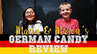 KIDS REVIEW GERMAN CANDY!!!