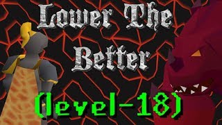 The 18 Combat Fire Cape Journey - Lower the Better Ep. #3