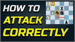 Top 18 Attacking Principles/Concepts Iฑ Chess - How To Attack Correctly - How To Sacrifice Pieces!