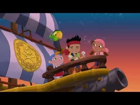 Джейк и пираты Нетландии - Пиратский пикник!/ Ключ от скалы Череп - Серия 13, Сезон 1