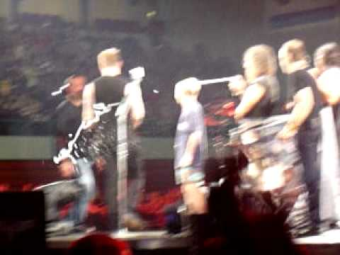 Metallica Happy Birtay Castor  Atlântico 18-05