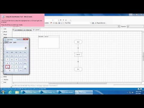 Blue Prism Video Tutorial   019   Object Studio - Part 2 - Spying
