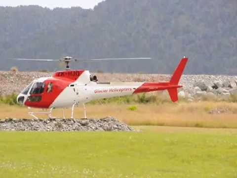 5 Minutes at the Glacier Country Heliport at Franz Josef New Zealand