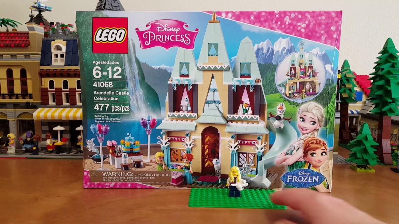 Lego Disney Princess Set 41068 Arendelle Castle Celebration Unboxing