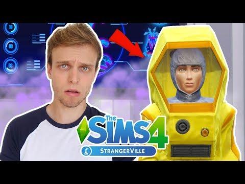 CONSEGUI A ROUPA SECRETA | The Sims 4 StrangerVille #7 thumbnail