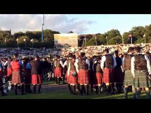 World Pipe Band Championships 2015 Results - Glasgow Green