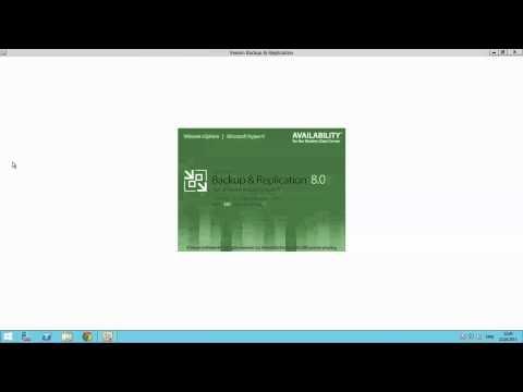 Лаборатория Veeam: Установка и настройка Veeam Backup & Replication V8