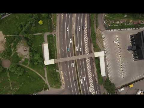 Almaty drone footage