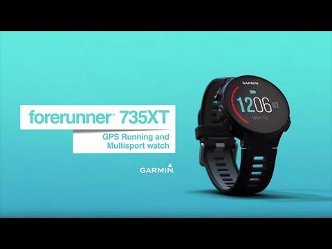 Garmin Forerunner 735XT GPS-Uhr