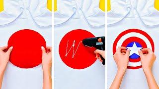 30 SIMPLE DIY CLOTHES DECOR IDEAS
