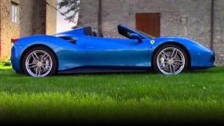Ferrari 488 Spider Test Drive 2016 [4K SUPER HIGH QUALITY]