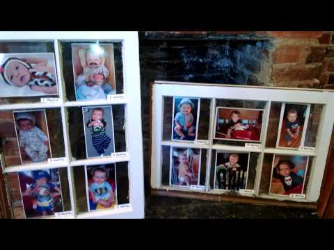 diy pinterest inspired window pane to picture frame youtube