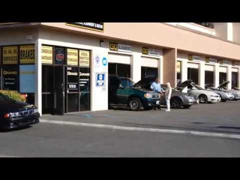 Auto Repair in Escondido ~ Grand Garage, Escondido ~ Auto Maintenance Services