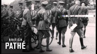 Army Cyclists At Worthing (1914-1918)
