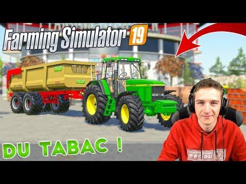 🔴 DU TABAC A RÉCOLTER SUR CETTE MAP FRANÇAISE ! Farming Simulator 19