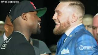 Conor McGregor Embarrasses Floyd Mayweather in Front of Fans