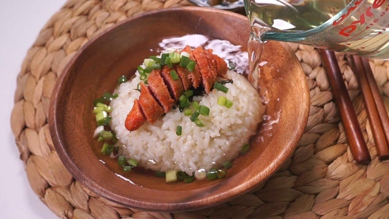 [간단요리] 명란 오차즈케 만들기 Ochazuke / Greentea on Rice