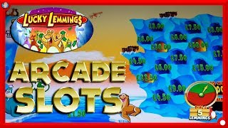 NEW SLOTS: LUCKY LEMMINGS, TEMPLE OF TREASURE & More !!!