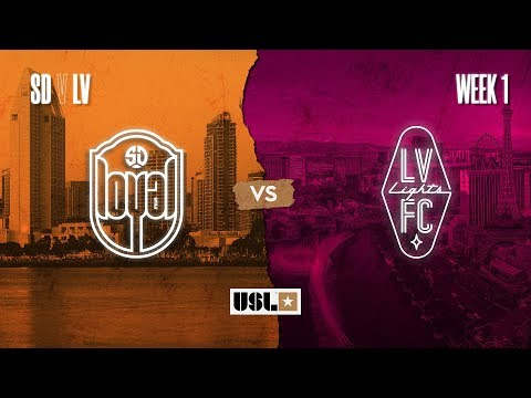 San Diego Loyal vs. Las Vegas Lights FC: March 7th, 2020