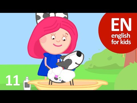 11. Shampoo for dogs 🛁🚿🐶- Smarta and her Magic bag (english)