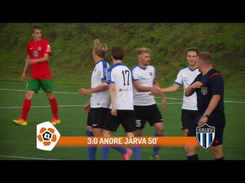 23. voor 2017: JK Tallinna Kalev - FC Elva 8:0 (2:0)