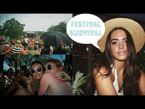 ☮ Music Festival Survival Guide ☮