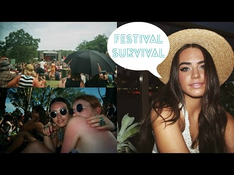 ☮ Music Festival Survival Guide ☮