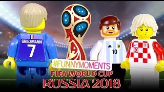 LEGO World Cup 2018 Funny Moments & Goals
